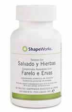 Suplemento nutritivo de salvado y hierbas para controlar el peso Herbalife