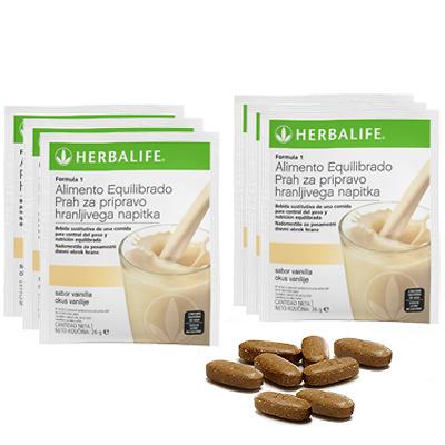 Paquete para tres dias Herbalife
