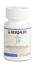 Tabletas Herbalife de vitaminas,minerales y hierbas para reducir celulitis